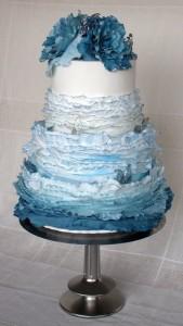 Ruffles Cake