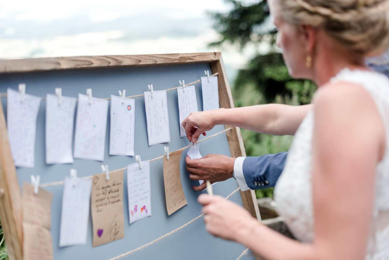 Wünsche ans Brautpaar