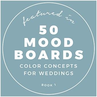 Die Hochzeiterin ist mit Shootings für Hochzeitsplanung und Dekoration im Moodboard-Buch zu finden